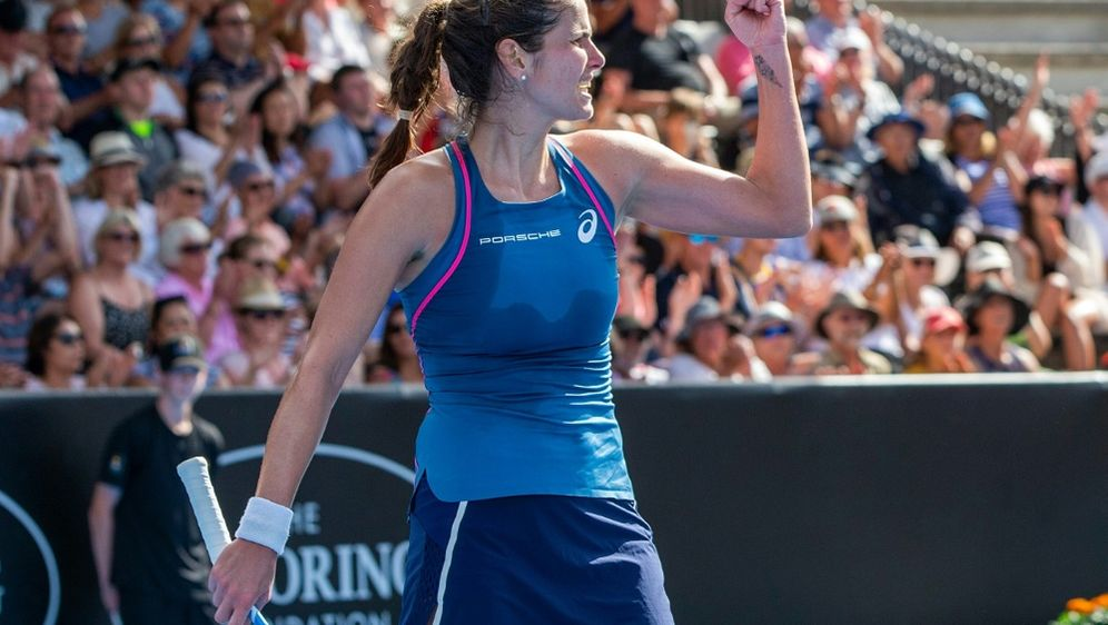 Steht im Achtelfinale des WTA-Turniers: Julia Görges - Bildquelle: AFPSIDDAVID ROWLAND