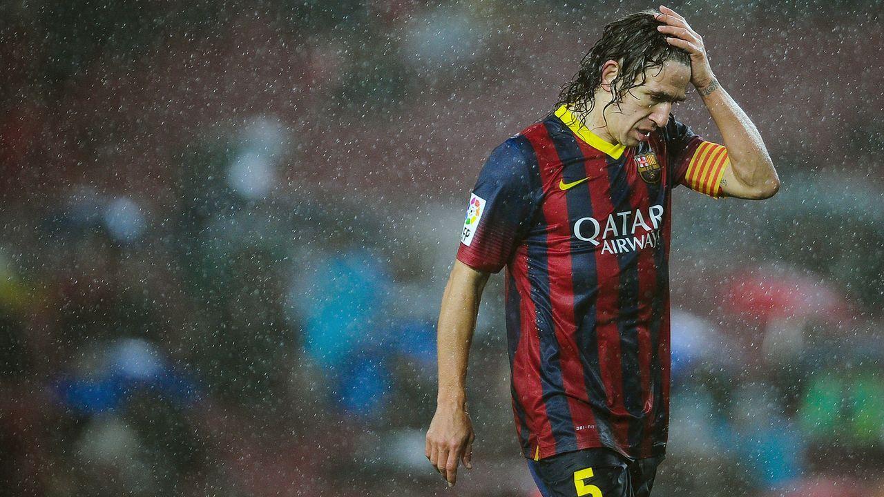Platz 5 - Carles Puyol - Bildquelle: 2014 Getty Images