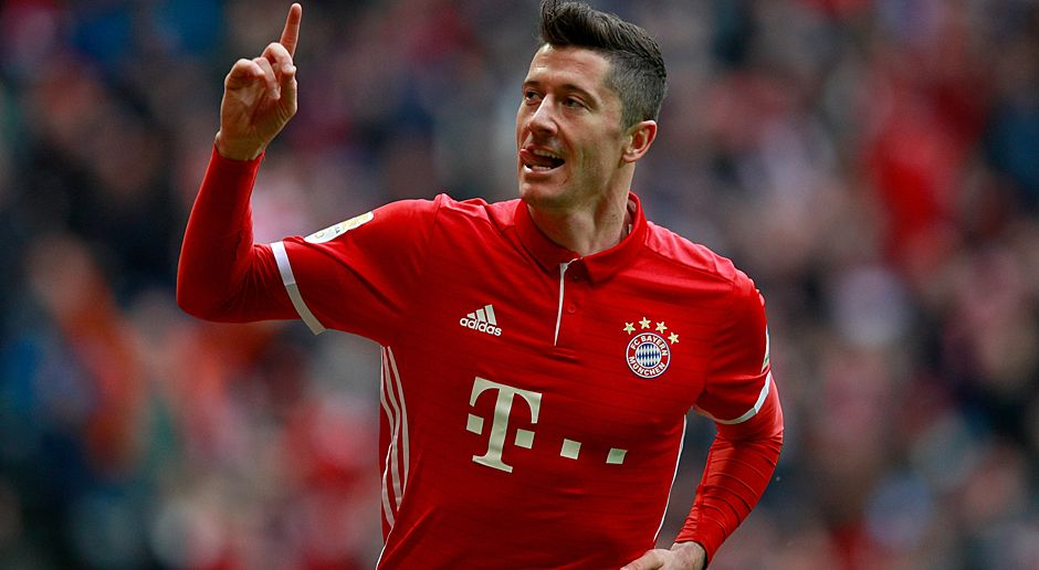 Robert Lewandowski - Bildquelle: Getty