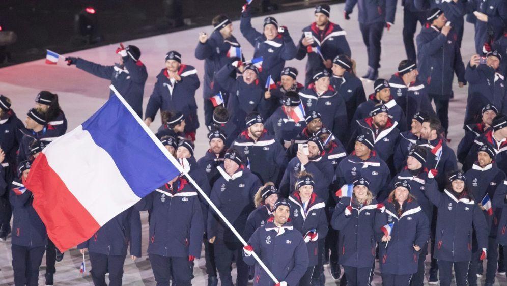 Frankreich läuft 2020 als vorletztes Team ein - Bildquelle: PIXATHLONPIXATHLONSID