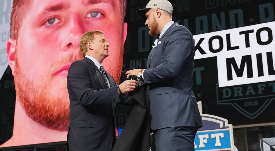 15. Pick - Oakland Raiders: OT Kolton Miller - Bildquelle: getty