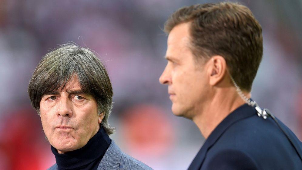 Bierhoff glaubt an eine baldige Rückkehr Löws - Bildquelle: PIXATHLONPIXATHLONSID