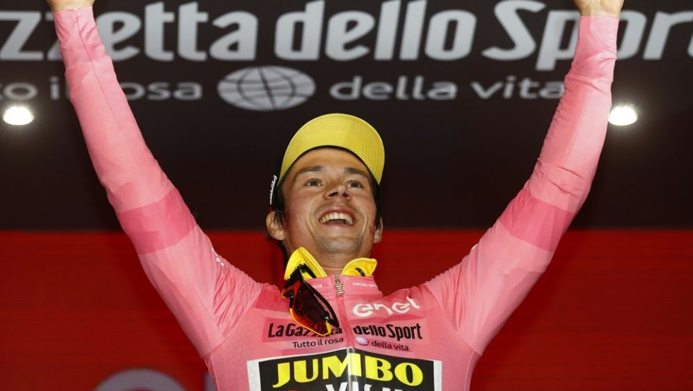 Roglic gewinnt das Auftakt-Zeitfahren des Giro d'Italia - Bildquelle: AFPSIDLUK BENIES