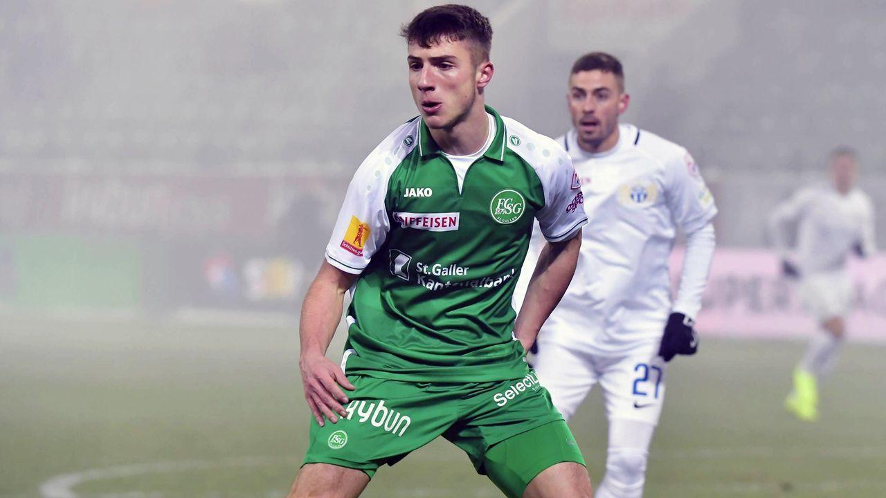 Super League: Leonidas Stergiou (FC St. Gallen/Schweiz) - Bildquelle: imago/Geisser