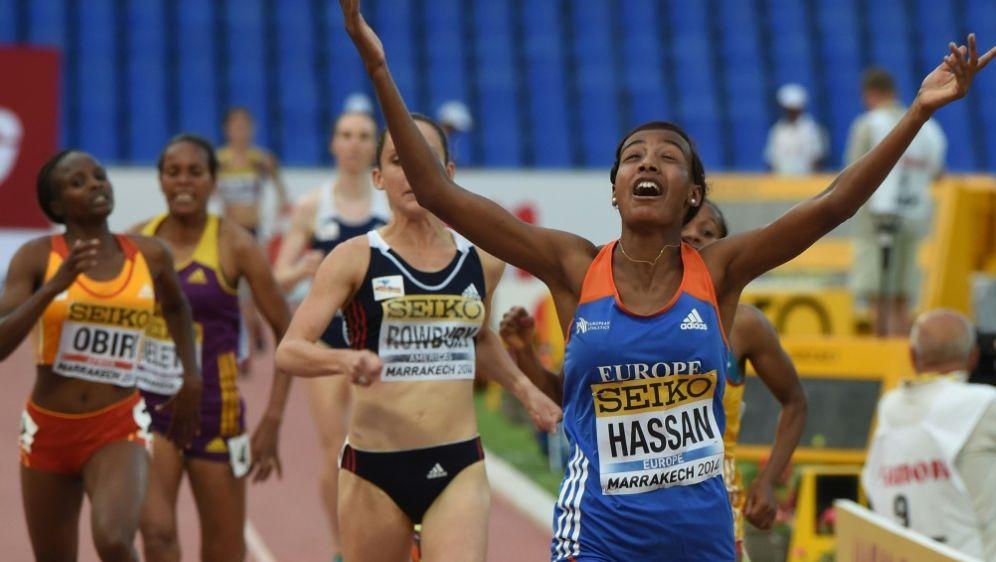 Sifan Hassan läuft Weltrekord über die Meile - Bildquelle: AFPSIDFADEL SENNA