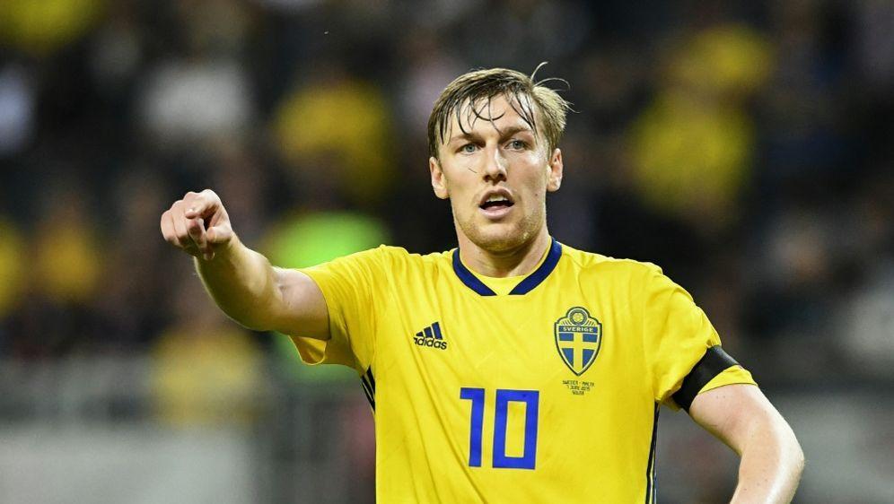 Emil Forsberg gehört zum EM-Kader von Schweden - Bildquelle: AFPSIDJONATHAN NACKSTRAND