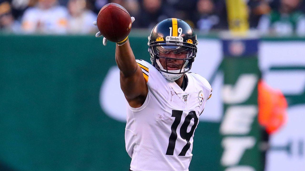 Platz 10: JuJu Smith-Schuster (Pittsburgh Steelers) - Bildquelle: imago