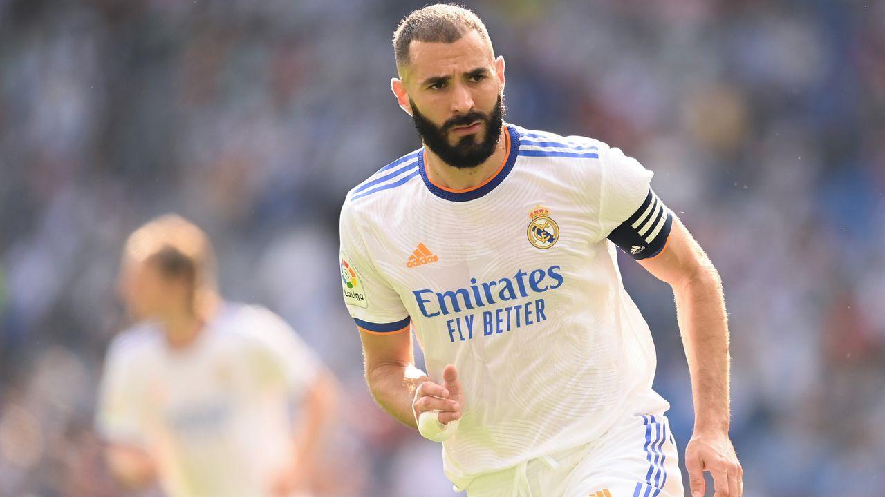 Karim Benzema (Real Madrid) - Bildquelle: 2021 Getty Images