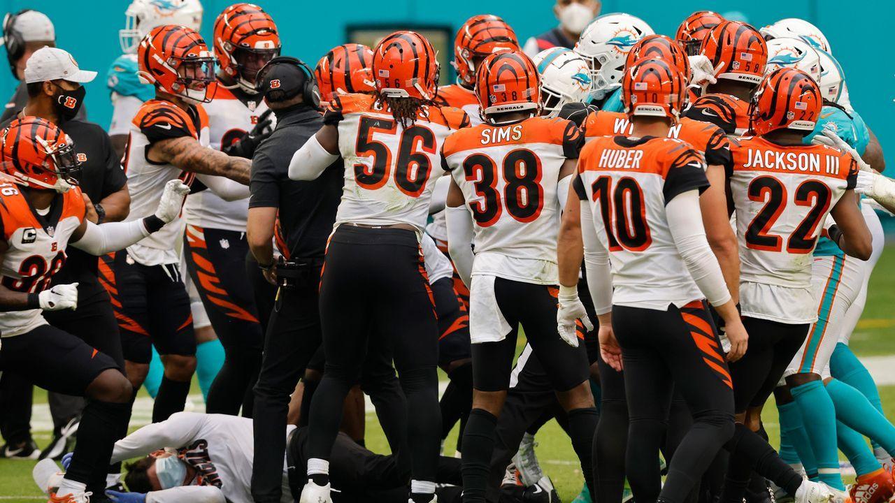 Cincinnati Bengals (2-9-1 zum Zeitpunkt des Ausscheidens) - Bildquelle: 2020 Getty Images