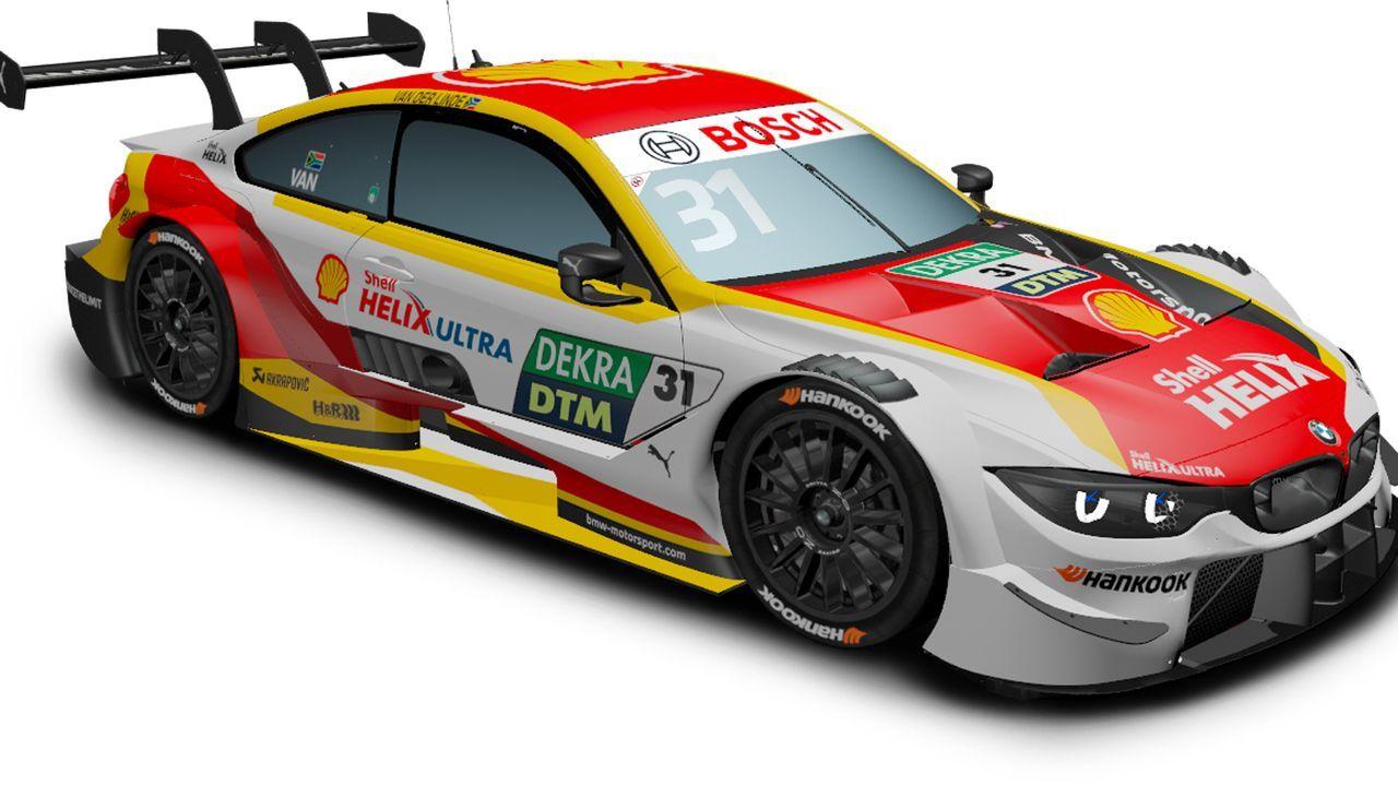Sheldon van der Linde (BMW Team RBM) - Bildquelle: DTM