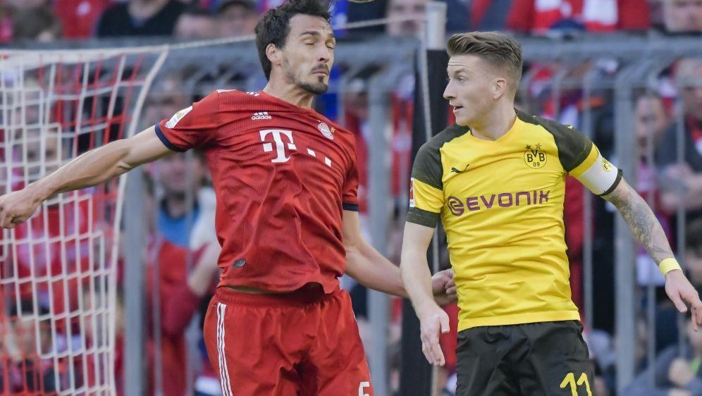 Hummels (l.) spielte von 2008 bis 2016 für Dortmund - Bildquelle: AFPSIDGUENTER SCHIFFMANN