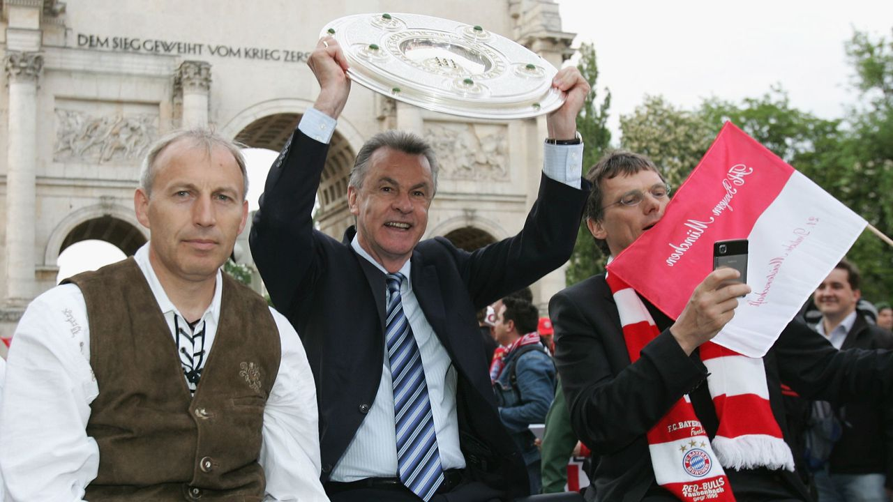 Ottmar Hitzfeld (FC Bayern 1998-2004, 2007-08) - Bildquelle: 2008 Getty Images