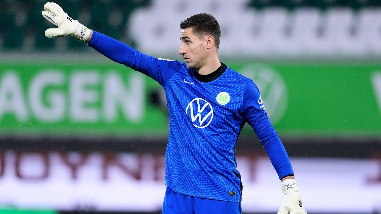 Platz 6: Koen Casteels (VfL Wolfsburg) - Bildquelle: 2020 Getty Images