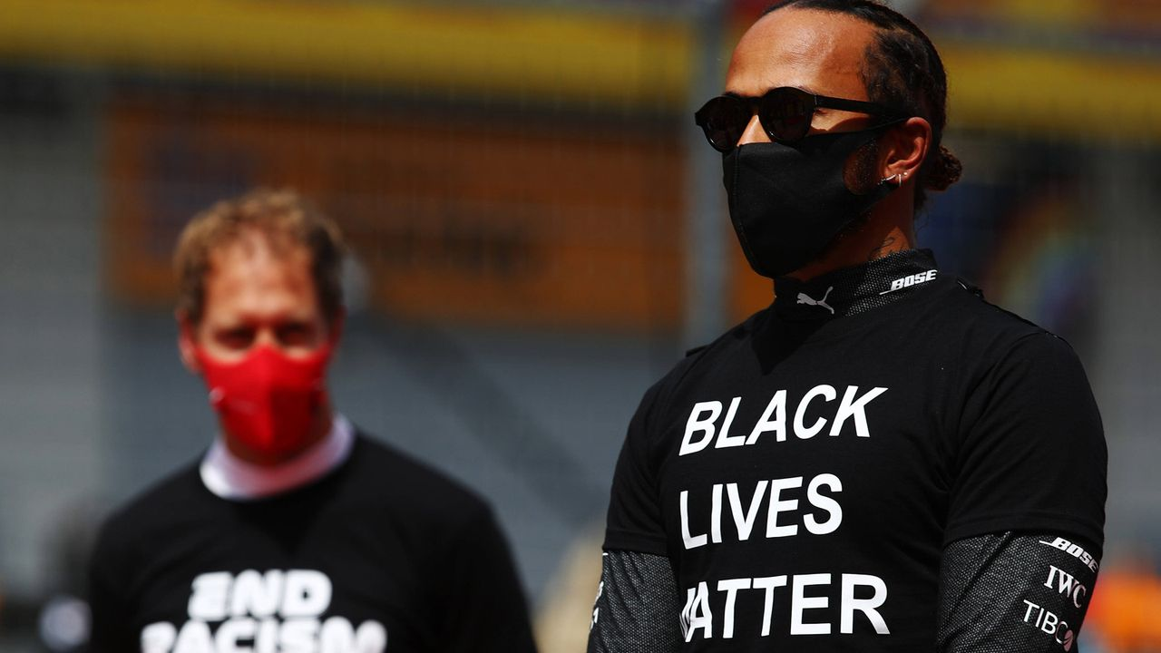 """Black Lives Matter"" - Bildquelle: HOCH ZWEI/Pool/Getty Images"