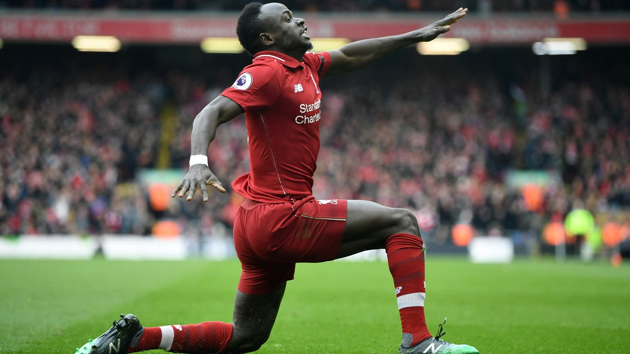 5. Sadio Mane (27 Jahre, FC Liverpool) - Bildquelle: 2019 Getty Images