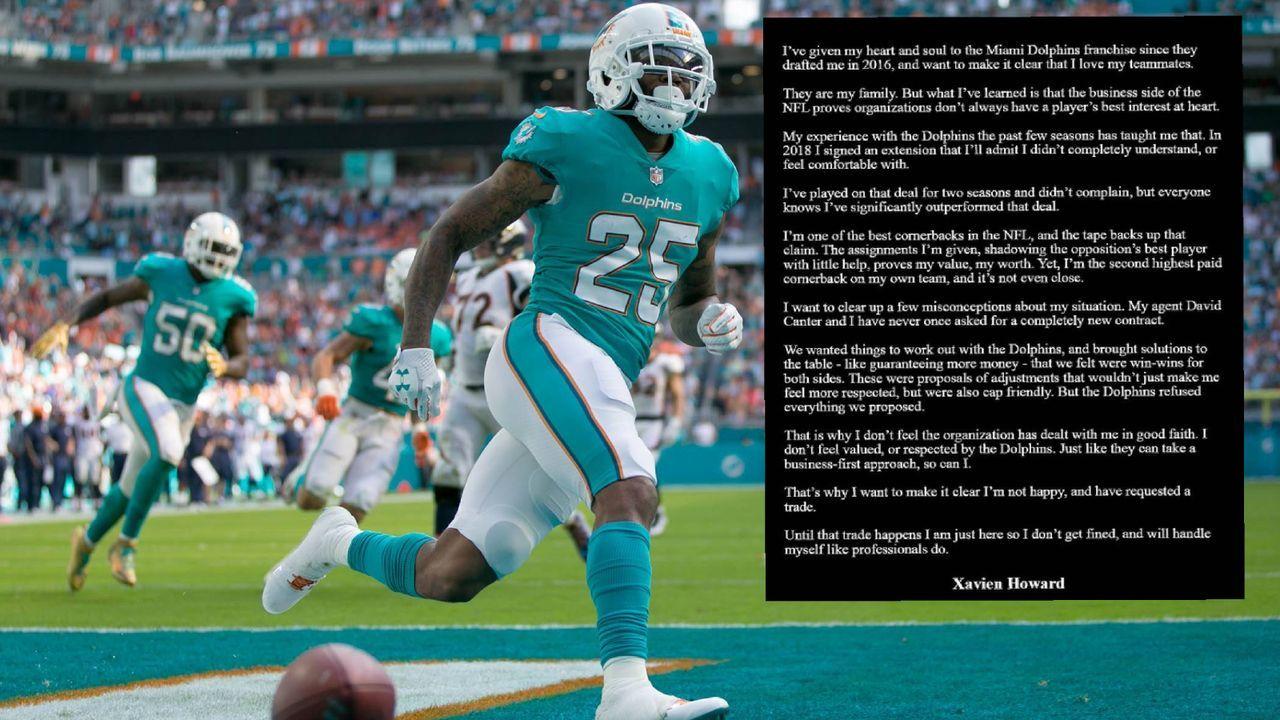 Xavien Howard forciert Trade von den Dolphins - Bildquelle: Imago / instagram.com/p/CR2bIPdF7nv/