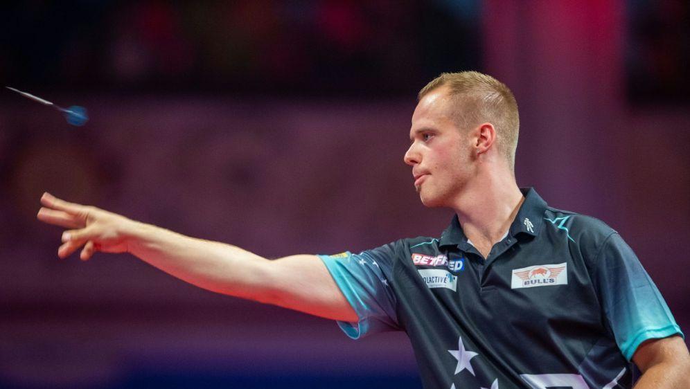 Max Hopp ist der 24. der Weltrangliste im Darts - Bildquelle: PIXATHLONPIXATHLONSID
