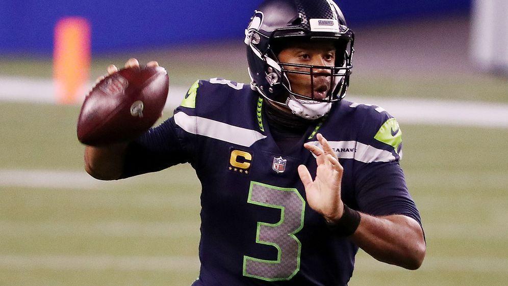 Ist aktuell der Mann der Stunde in der NFL: Seahawks-Quarterback Russell Wil... - Bildquelle: 2020 Getty Images