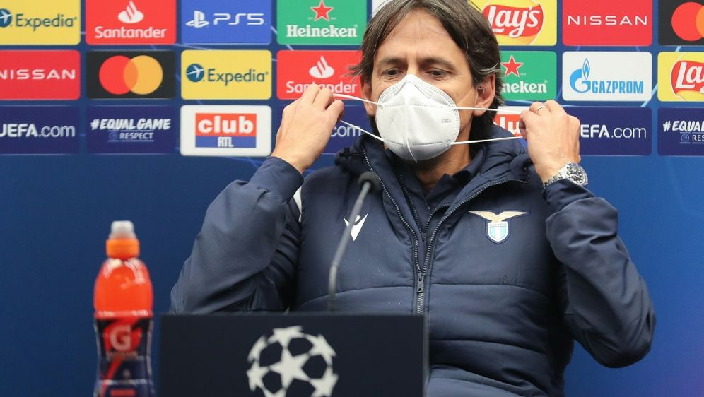 Simone Inzaghi kann in Brügge mit nur 16 Spielern planen - Bildquelle: AFPSIDBRUNO FAHY