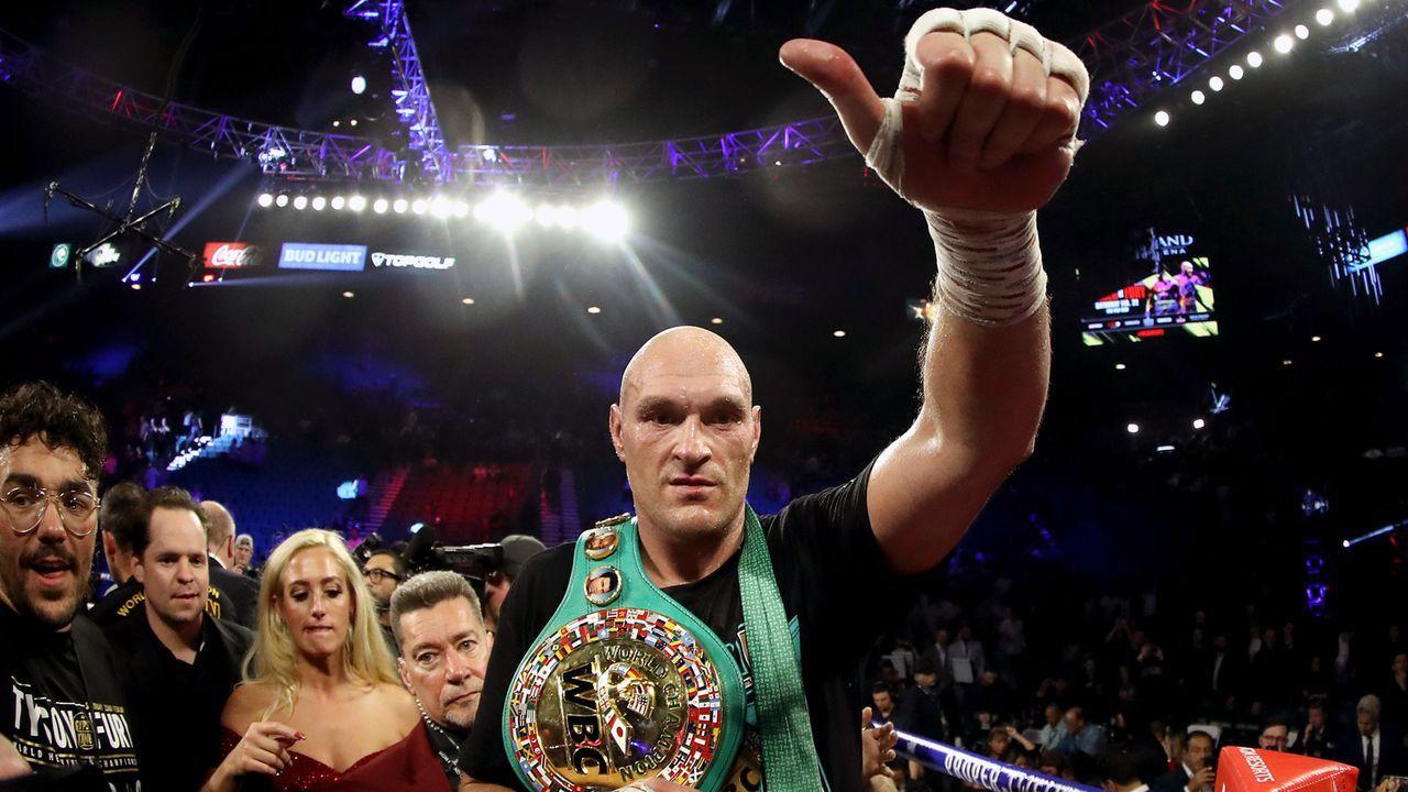 Platz 11 - Tyson Fury (Boxen) - Bildquelle: 2020 Getty Images