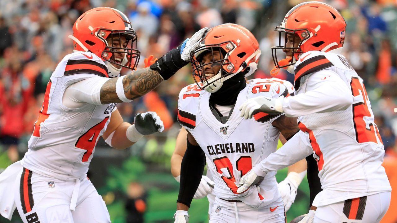 Neues Jersey der Cleveland Browns kommt im April 2020 - Bildquelle: Getty Images