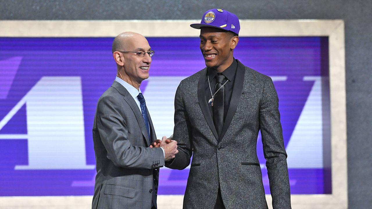 Pick 4: De'Andre Hunter - Los Angeles Lakers - Bildquelle: 2019 Getty Images