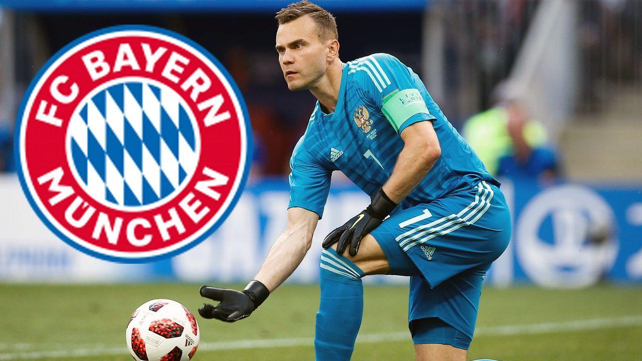 Igor Akinfeev (FC Bayern München) - Bildquelle: imago/Fotoarena
