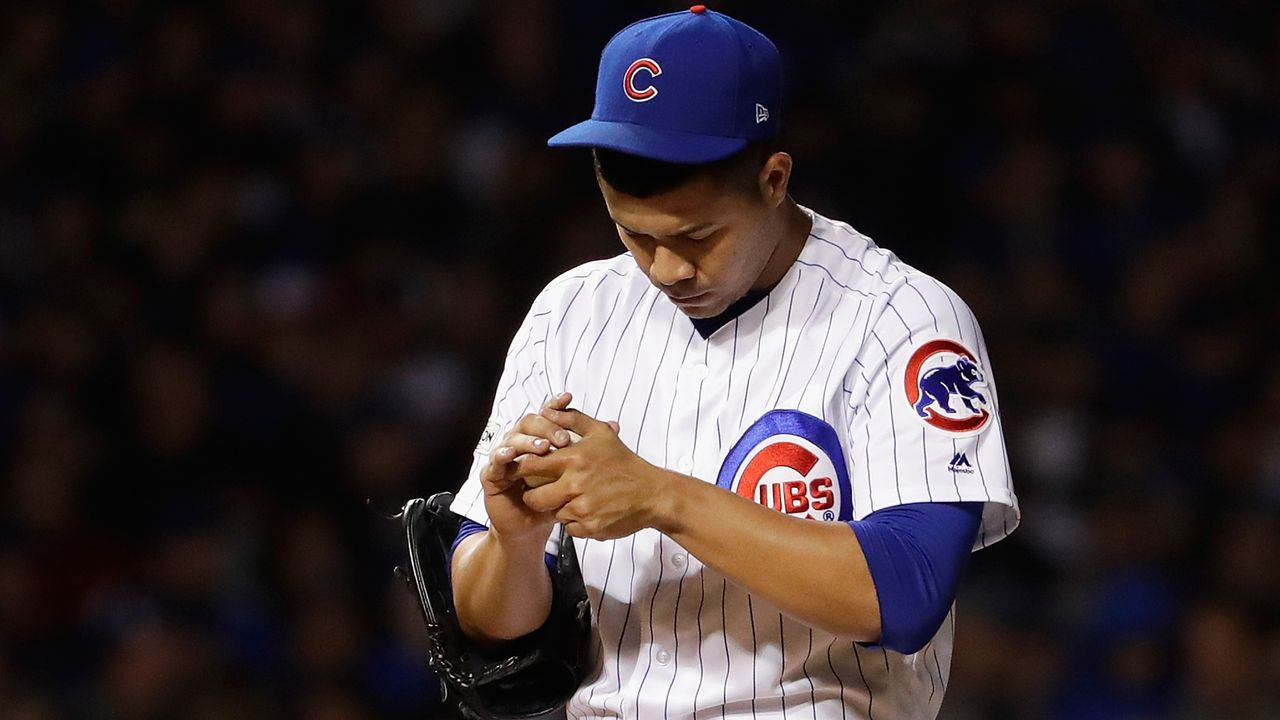 Chicago Cubs-Pitcher verletzt sich beim Geschirrspülen - Bildquelle: 2017 Getty Images