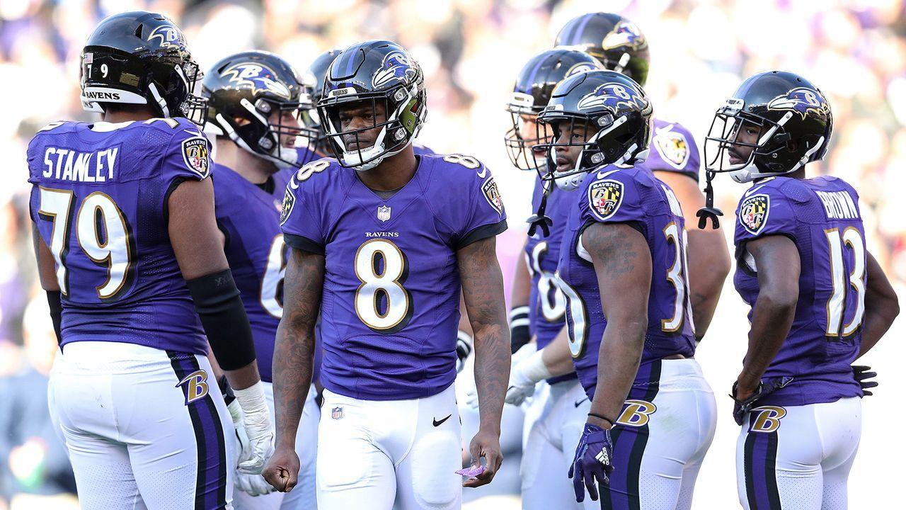 Platz 1: Baltimore Ravens - Bildquelle: 2019 Getty Images