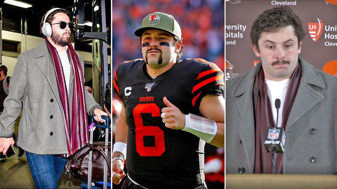 Baker Mayfields kuriose Bart-Begründung - Bildquelle: Getty / NFL