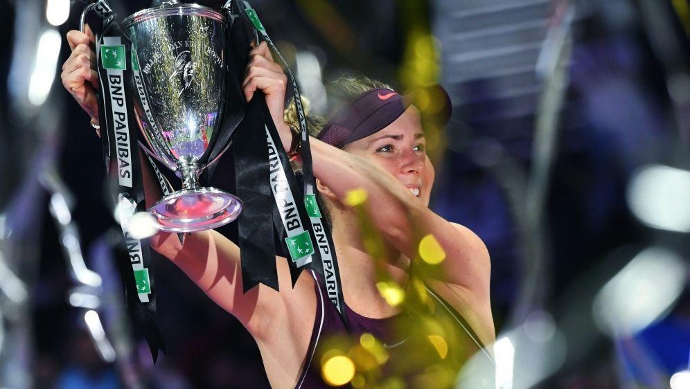 Bei den WTA-Finals winkt dieses Jahr ein Rekordpreisgeld - Bildquelle: AFPSIDROSLAN RAHMAN