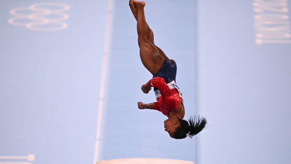 Simone Biles tritt im Sprung-Einzel nicht an - Bildquelle: AFPSIDMARTIN BUREAU