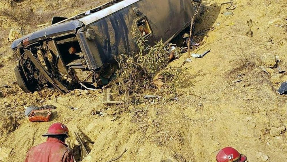 Mindestens acht Menschen kamen bei dem Unglück ums Leben - Bildquelle: AFPSIDZAPOTILLO TV