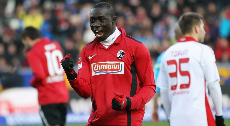 2010 - Papiss Demba Cisse zum SC Freiburg (1,5 Mio.) - Bildquelle: 2010 Getty Images