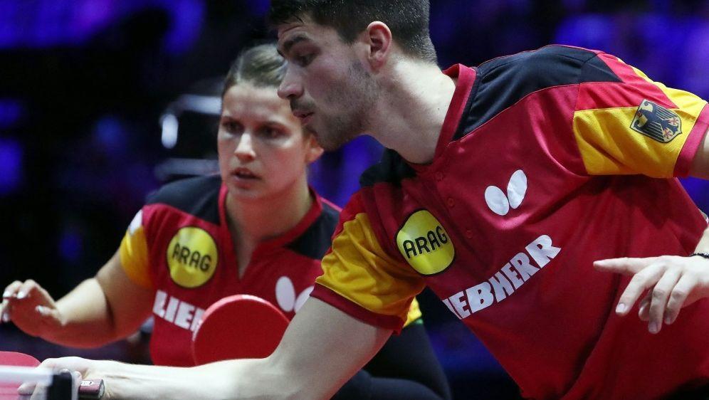 Deutsches Doppel Franziska/Solja startet mit Sieg - Bildquelle: AFPSIDFERENC ISZA