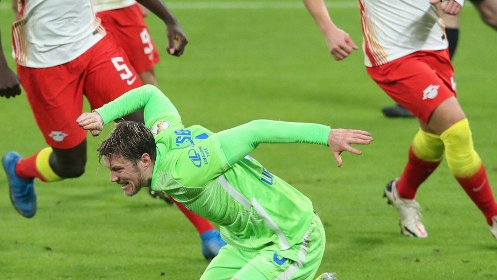 Weghorst scheiterte gegen Leipzig vom Punkt - Bildquelle: POOLPOOLSIDRONNY HARTMANN