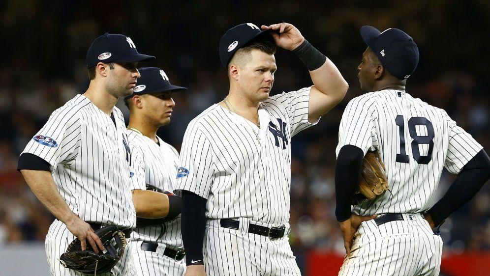 Aus für die New York Yankees - Bildquelle: AFPGETTY SID