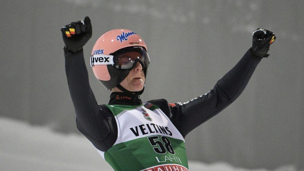 Karl Geiger Zweiter bei der Qualifikation - Bildquelle: AFPSIDMARKKU ULANDER