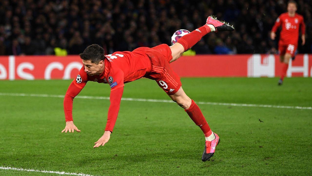Platz 2: Robert Lewandowski (FC Bayern) - Bildquelle: 2020 Getty Images