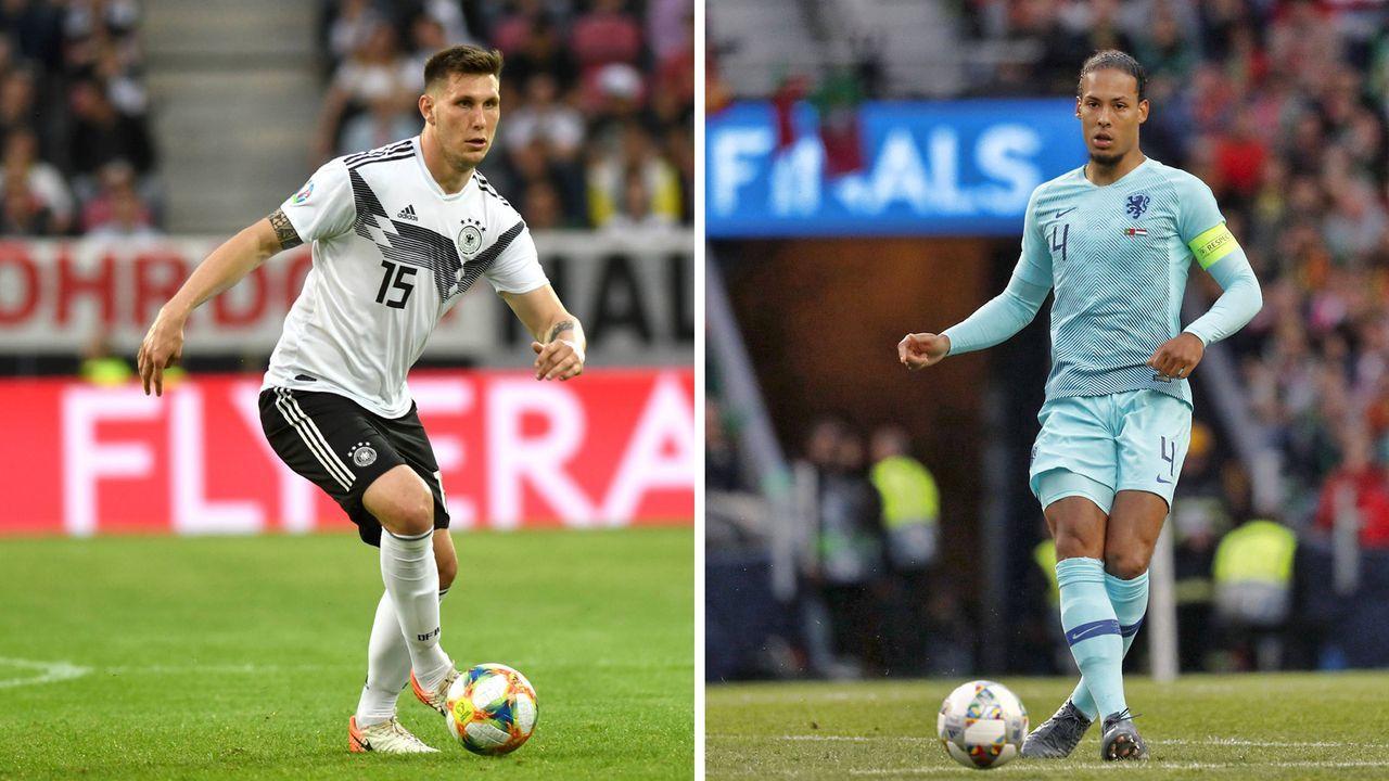 Innenverteidigung: Niklas Süle vs. Virgil van Dijk  - Bildquelle: imago