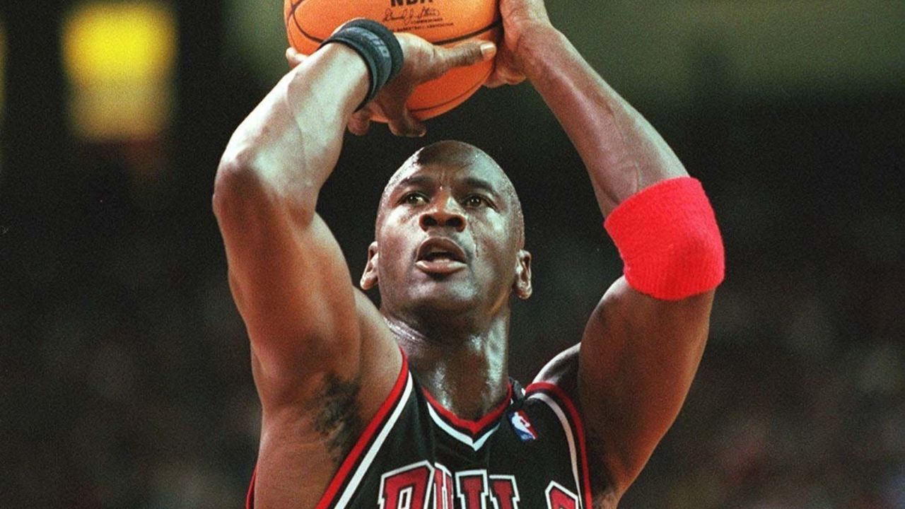 Platz 2: Michael Jordan - Bildquelle: Getty