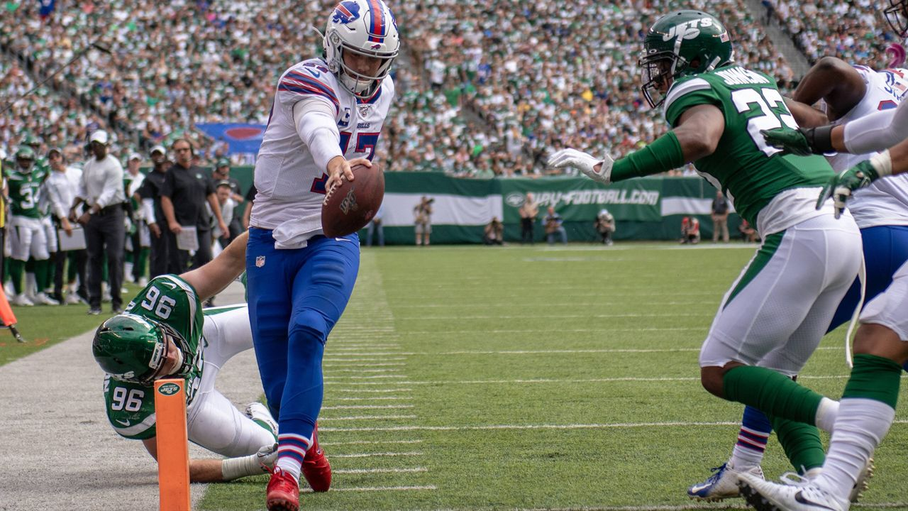 Quarterback: Josh Allen (at New York Giants) - Bildquelle: imago