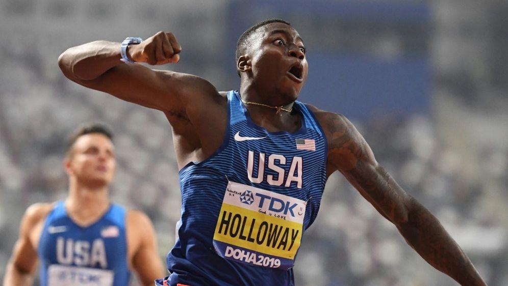Grant Holloway gewinnt in 13,10 Sekunden Gold - Bildquelle: AFPSIDJewel SAMAD