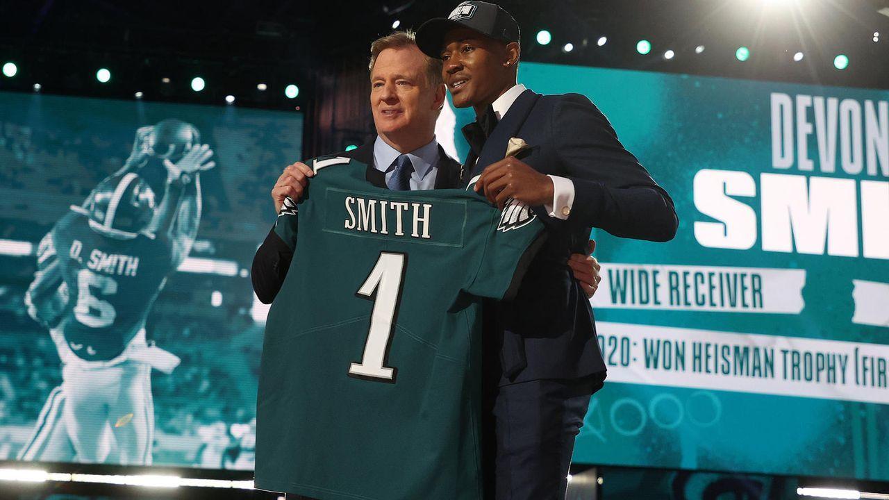 DeVonta Smith (Wide Receiver/Philadelphia Eagles) - Bildquelle: getty