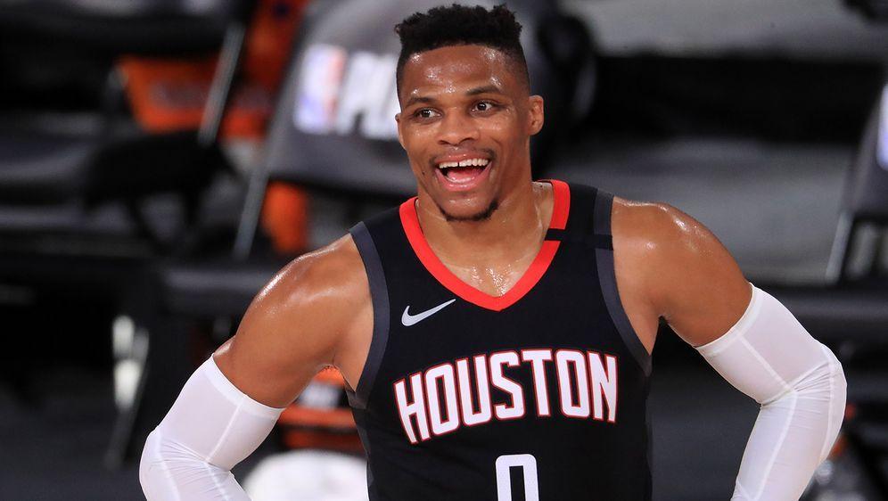 Russell Westbrook verlässt die Houston Rockets. Dafür kommt John Wall im Geg... - Bildquelle: Getty Images