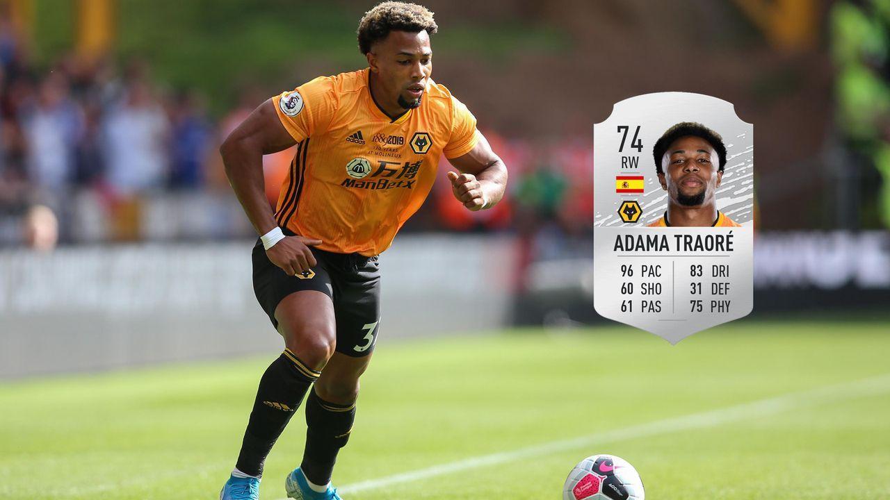 Adama Traore, Spanien  - Bildquelle: imago images / Sportimage