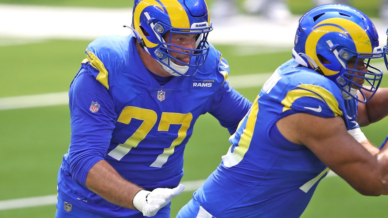 Left Tackle: Andrew Whitworth (Los Angeles Rams) - Bildquelle: 2020 Getty Images