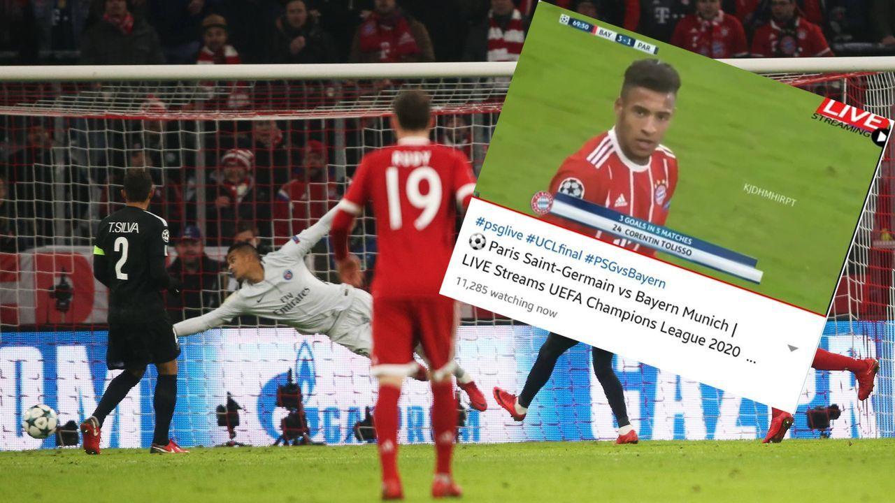 11.000 Fans sehen falsches Champions-League-Finale - Bildquelle: imago/Bernd Müller /Screenshot twitter @momahdi123