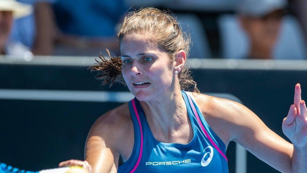Julia Görges ist beim WTA-Turnier ausgeschieden - Bildquelle: AFPSIDDAVID ROWLAND