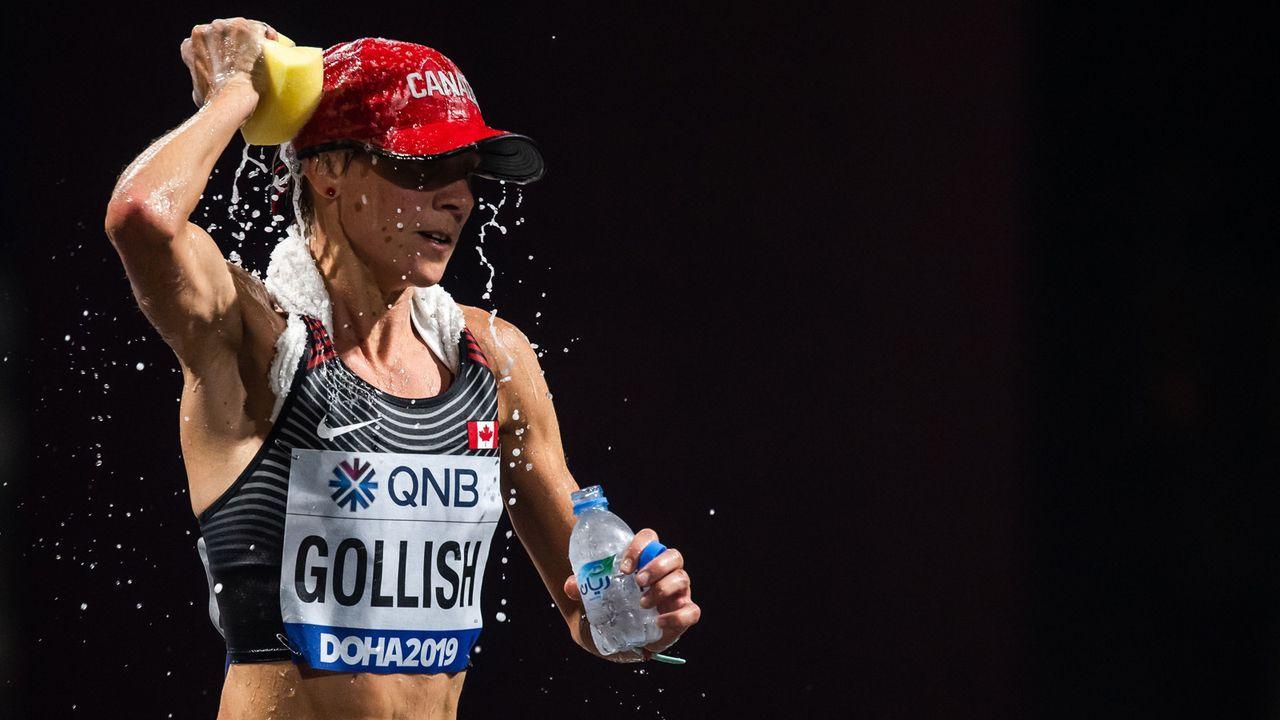 Marathonlauf unter extremen Bedingungen - Bildquelle: imago images/Bildbyran